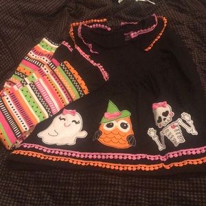 Girls Halloween set size 6X